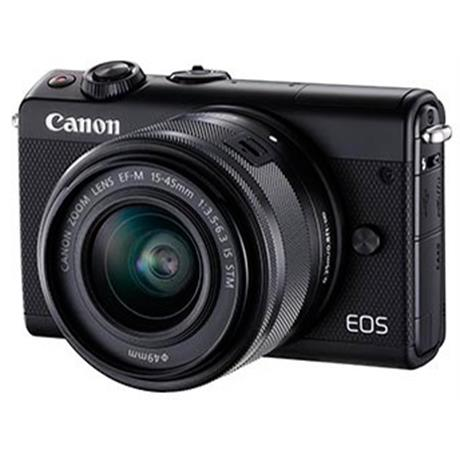 Canon EOS M100 Black Body + EF-M 15-45mm Black Lens Kit